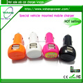 New design mini usb 5v 2.1A car charger for cellphone
