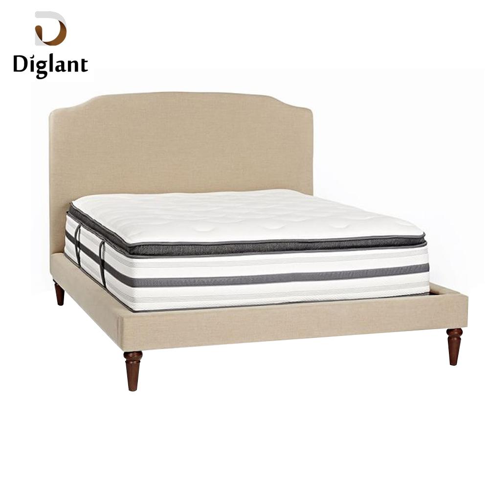 DM038 Diglant Gel Memory Latest Double Fabric Foldable King Size Bed Pocket bedroom furniture dongguan mattress - Jozy Mattress | Jozy.net