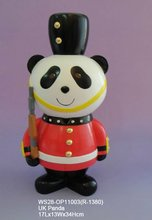 OEM panda resin polyresin figurine animal sculpture statue for home decoration birthday souvenir gift items