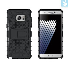 China New products mobile phone covers 2 in 1 Combo PC TPU Kickstand Case for SAMSUNG Galaxy Note 7
