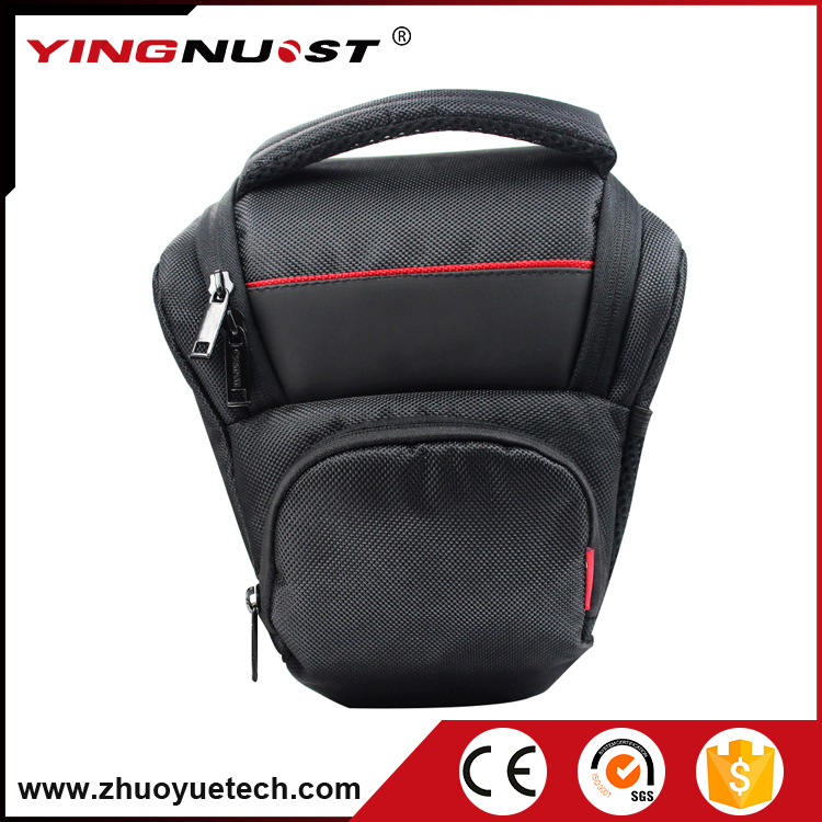 Hot Selling Goods from China for Hunting Triangle Nylon 1680D Case for Canon EOS 600D Digital slr Camera Outdoor Traveling Bag