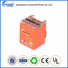 Brazilian motorcycle battery supplier VRLA AGM 12v2.5ah