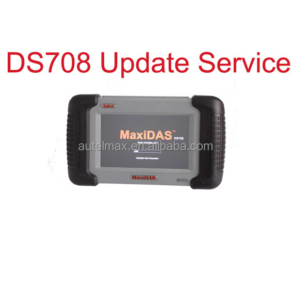 Original autel maxidas ds708 autel maxidas ds708 with ecu programming update software service autel maxidas ds708 software