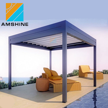 outdoor patio decking aluminium pergola
