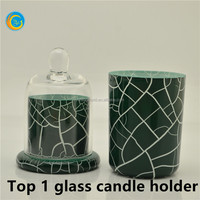 Glass Church Candle Stands unity candle stand