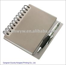 2012 Spiral Hardcover notebook with pen