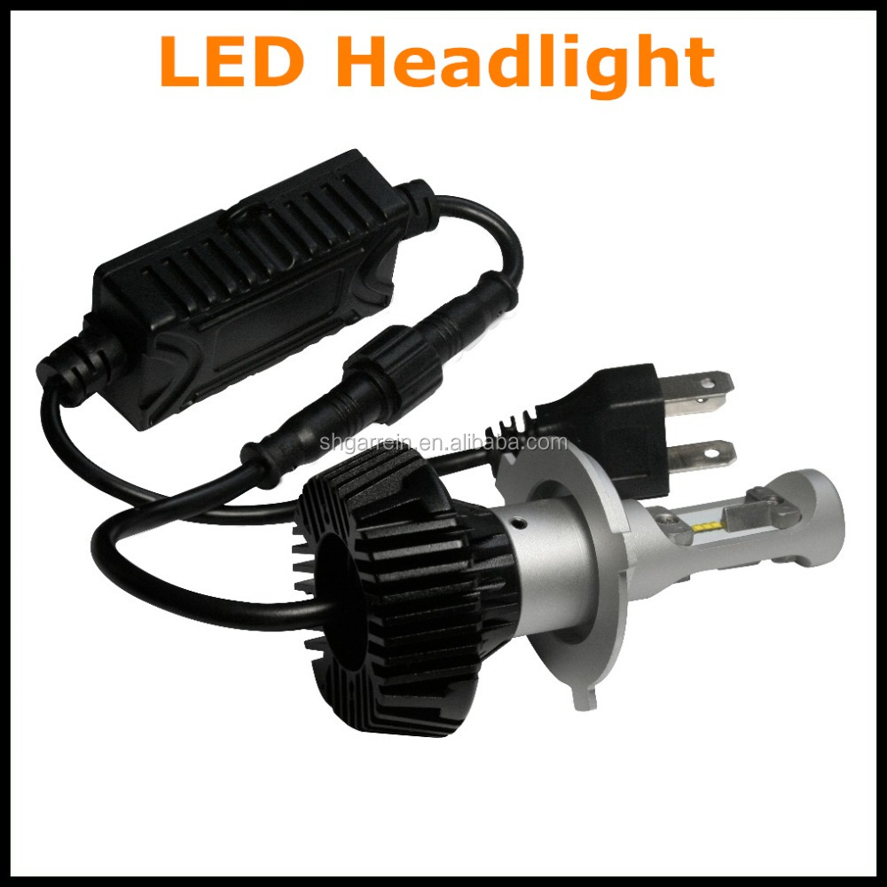 Hight Quality 6500K High Power 48W V9 H4 Car LED Headlights 2017