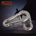 stainless steel metal snap hook spring fastener
