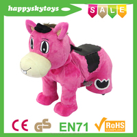 Promotional toys !!! Funny Hello Katy ride,electrical riding horse, interesting riding elephant