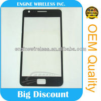 Front Glass Lens For Samsung Galaxy S2 Skyrocket i727 Digitizer Touch Panel White Black