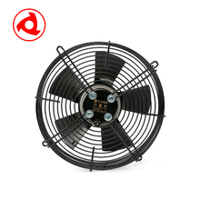 Ventilation exhaust flexible axial blower fan heater