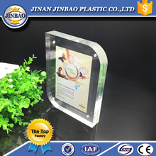 clear mini magnet table acrylic card display/picture frames