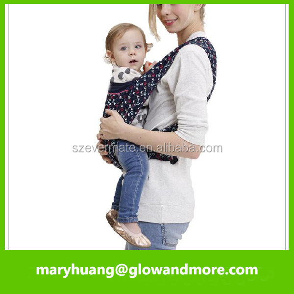 Factory wholesale high quality breathable baby sling carrier