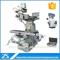 Mini vertical automatic feed desktop milling machine