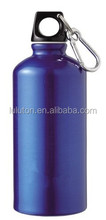 BPA free plastic lid with Large Loop Handle for carry carabiner small mouth stainless steel water bottle