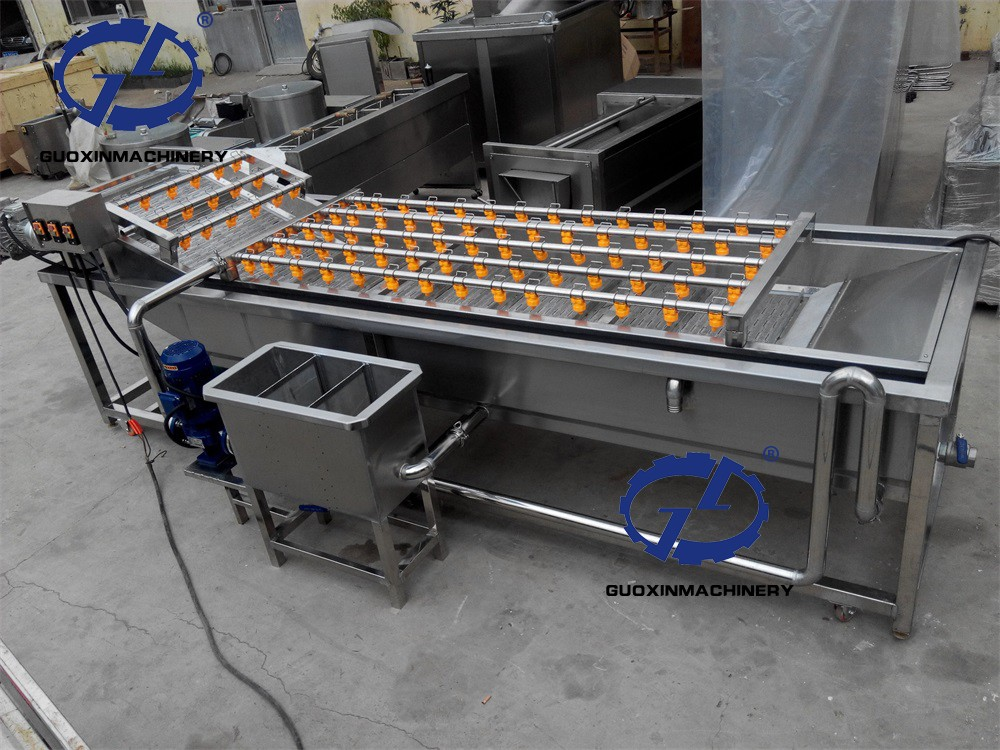 Vegetable ginger cleaning machine/onion washer/cassava roots washing machine