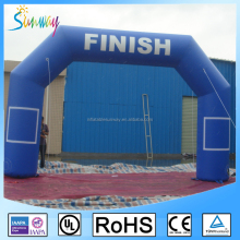 Inflatable Start Finish Line Sports Arch For Sale , Outdoor Advertising Inflatable Arch