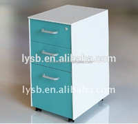 Factory direct cheap knock dowm high quality godrej 3 vertical drawer steel filing cabinet/free stand laundri cabinet