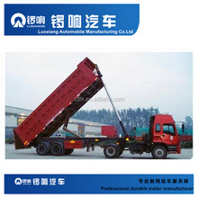 Triple axles dump semi trailer/ tipper truck trailer with cheaper price