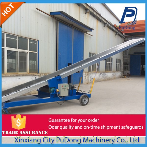 China professional high inclination angle belt conveyor