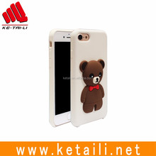 Wholesale 3d dolls silicone +pc +micro friber phone cover