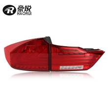 WH direct provide High Intensity Long Life LED DRL Taillight for 2014 Honda City black / red color