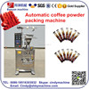 Shanghai YB-150F VFFS Stick packing machine for coffee, sugar, and powder milk.