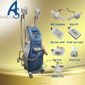 Cryo + Lipo laser + Cavitation +Vacuum+ RF 5 in 1 body slimming machine