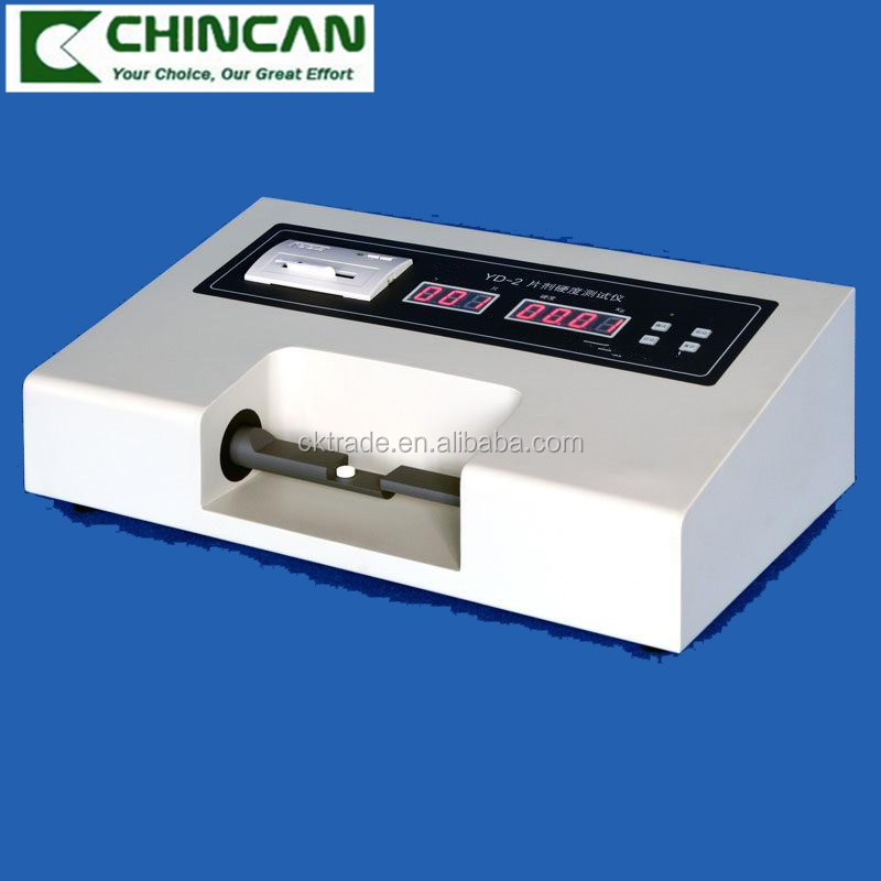 YD-2 High Quality LED Tablet Hardness Tester with Printer