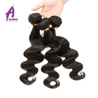 Indian Double wefted Virgin Human hair bundles, made of 100% Unprocessed Raw human hair Pure and Natural