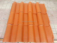 china supplier construction building materials of synthetic terracotta clay roof tile