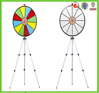 best selling quality advertising displays prize wheel of fortune