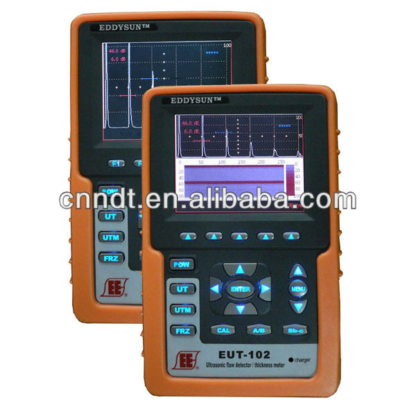 Ultrasonic flaw tester, portable ultrasonic flaw tester, digital ultrasonic flaw tester EUT-102A