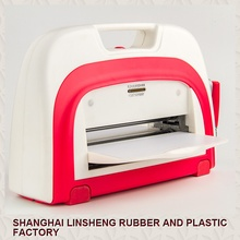 A4 adjustable die cutting and embossing machine