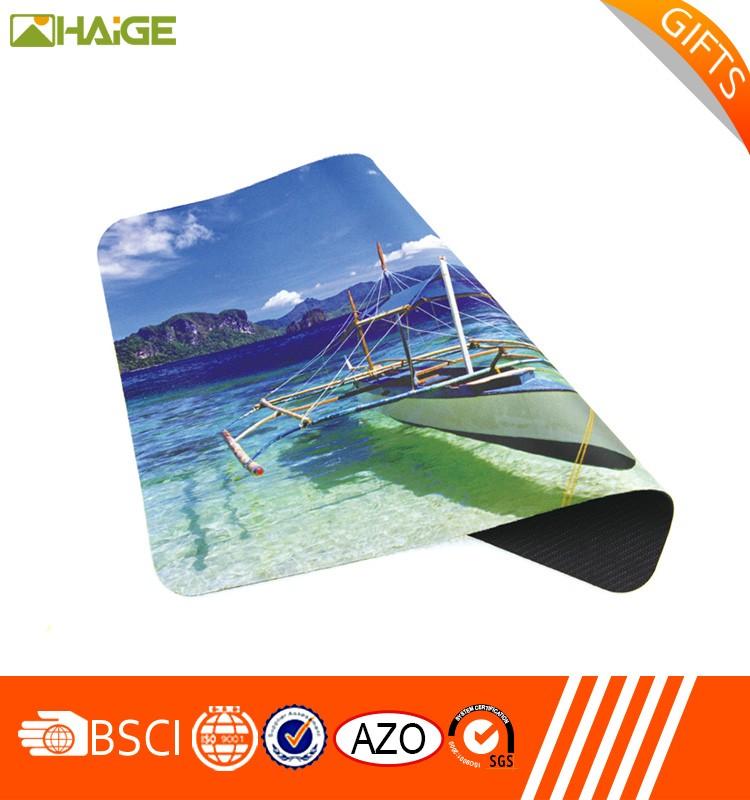 Promotional creative printed mouse pad manufacture