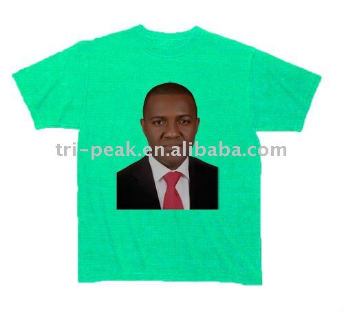 Heat transfer printing Election campaign T-shirt for president election