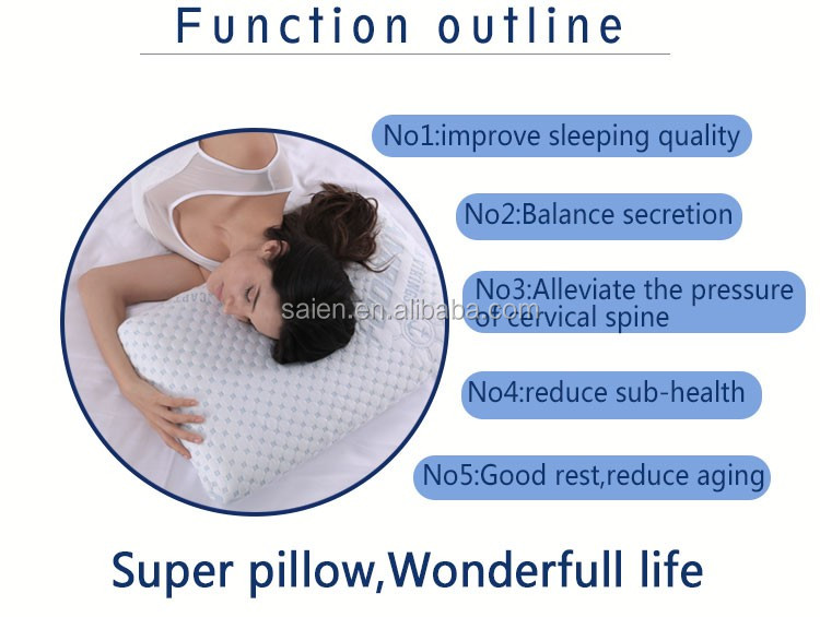Free sample private label soft mould memory foam bamboo pillow/Aloe vera pillow