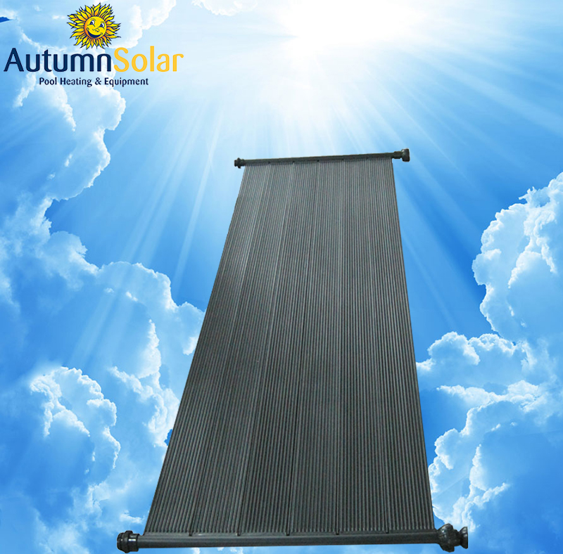 Polypropylene solar pool heating collector for swimming water