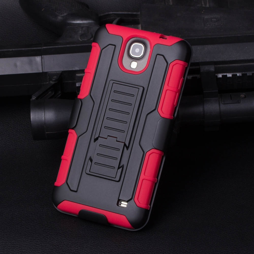 TPU PC Armor Holster Kickstand Combo Protector Phone Case for Samsung Galaxy Mega 2 NOTE 5 NOTE 4 NOTE 3