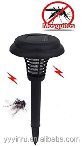Solar UV Bug Zapper+LED Light mosquitoes and other small flying insects Killer