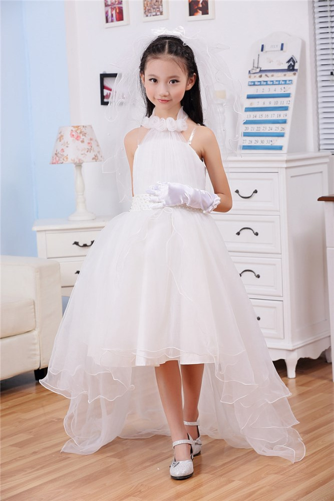 White Party Dresses For Girls 14