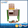 Wooden toy Safe and environmental protected Kids toy Wooden Kitchen Toy Set