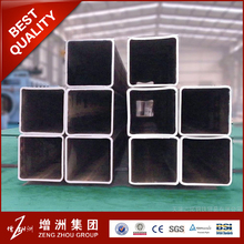 New design black square iron pipe specifications for wholesales