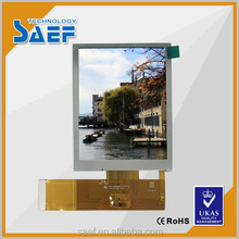 3.5 inch 640x480 sunlight readable Transflective lcd display module without touch panel