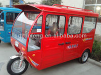 1000w climbing 20% electric tricycle for passengers