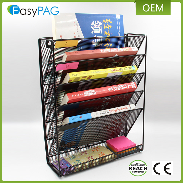 Wholesale fashion custom literature magazine stand metal display rack