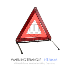 Car emergency tool safety kits including warning triangle and safety vest