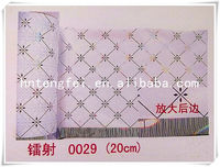 2014 fashion flock stretch decorative panel heat transfer film