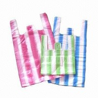 Cheap recycle OEM Plastic Shopping Carrier Bag