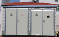 European type three phase type power distribution boxes transformer prefabricated substation equipment